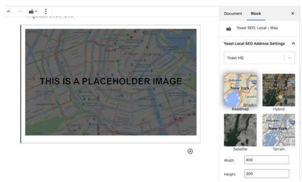 اضافه کردن نقشه به نوشته برای تجربه کاربری بهتر