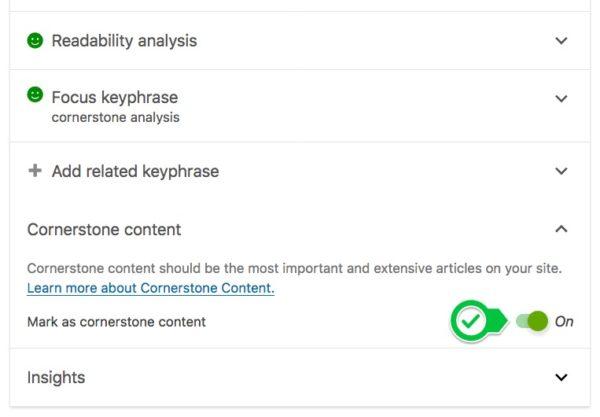 فعال کردن focus keyphrase در Yoast SEO